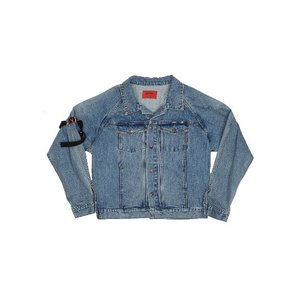 ESSAY.2 BELT WASHING DENIM JACKET