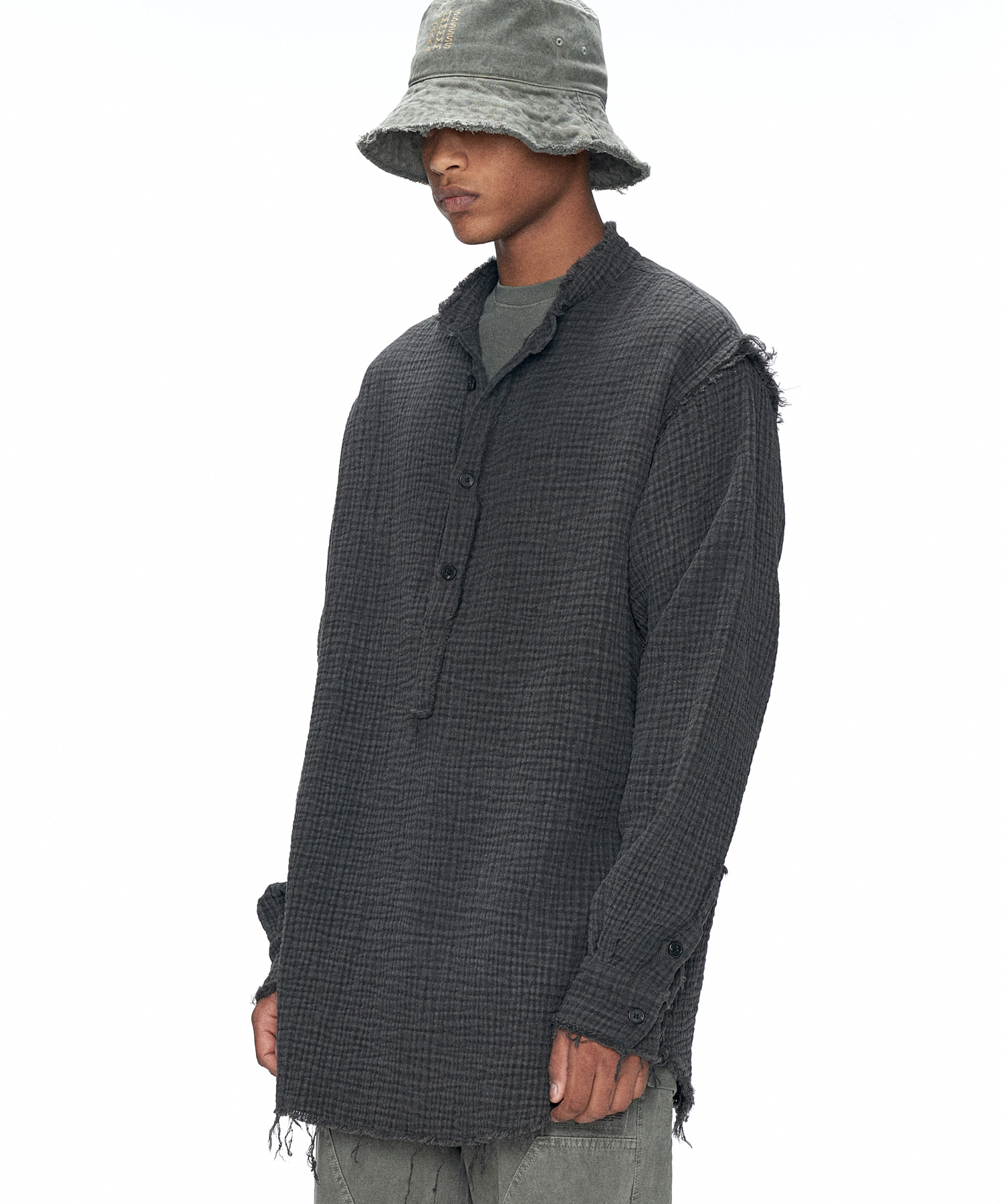 20FW CHARCOAL PULLOVER